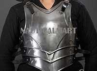 LARP Medieval Steel armor Full Cuirass