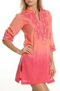 Pink Color Kaftan