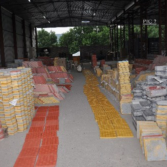 Parking Tiles And Paver Block Manufacturing Unit