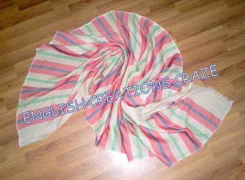 Cotton Polyester Woven Stoles