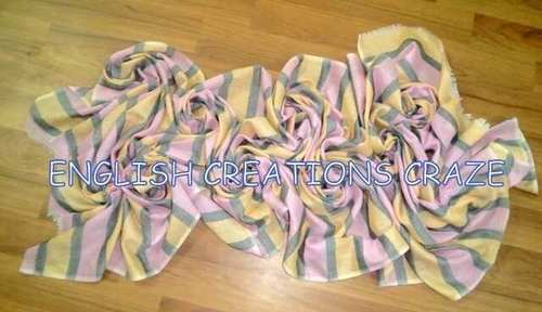 Cotton Polyester Blend Stoles
