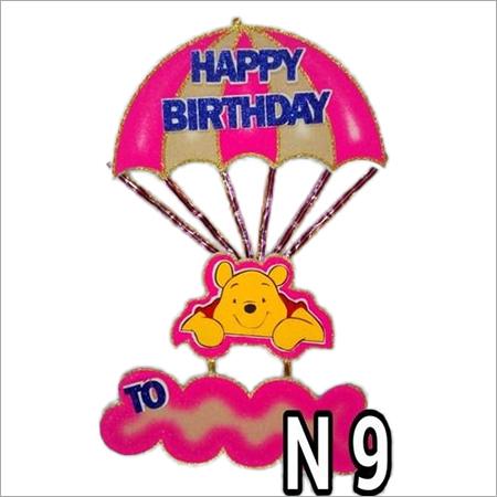 Thermocol Happy Birthday
