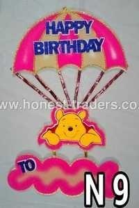 Thermocole Happy Birthday