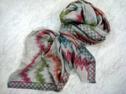 Cotton Silk Printed Stoles