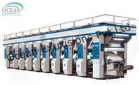 Multi Color Rotogravure Printing Press Machine