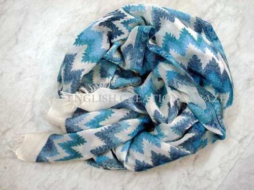 Cotton Modal Jacquard Scarves