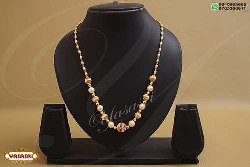 Gold Plated Fancy Mala