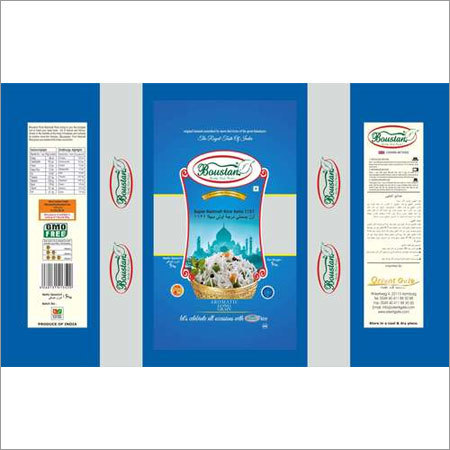 Boustan Rice Packaging Pouch