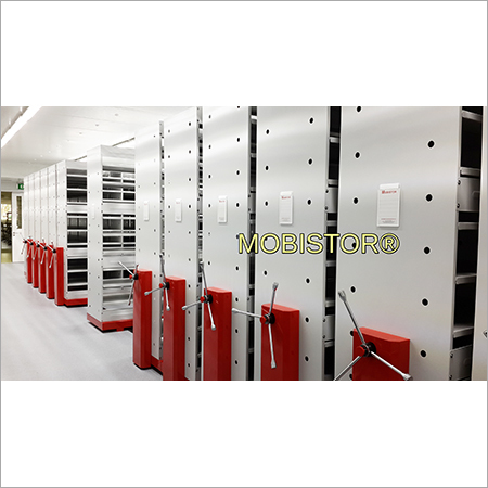 Office Records Mobile Storage Racks