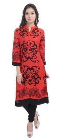 New Rayon designer kurti