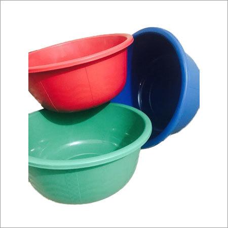 Multi Colored Plastic Tubs
