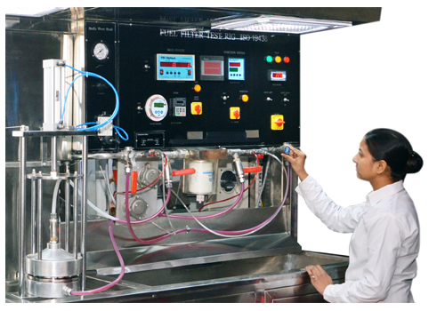 Filter Test Lab