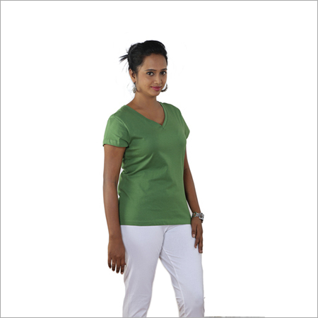 483b0a7e8 Ladies V Neck T Shirts Manufacturer,Exporter,Wholesale Supplier from ...