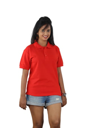 Ladies Collar T Shirts