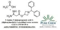 3-Amino-3-iminopropanoic acid-1-(diphenylmethyl)-3-azetidinyl ester acetate