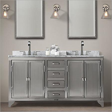 Stainless Steel Vanity