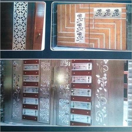Decorative Door Jali Cutting Service