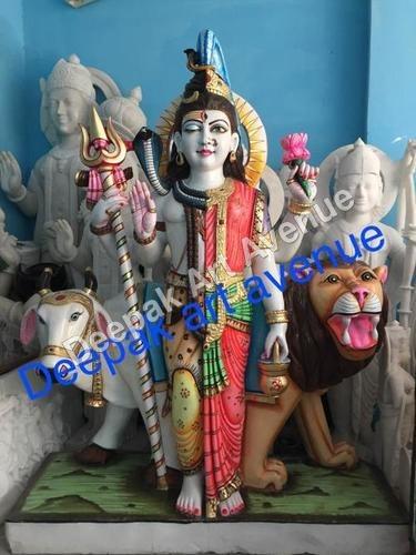 Marble Statue Ardha nareshwar