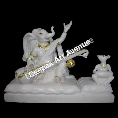 Ganesha Marble Statue