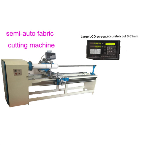 Semi Auto Fabric Cutting Machine