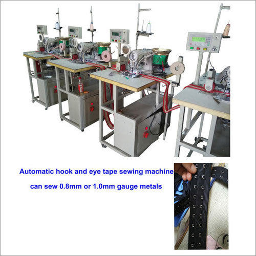 Automatic Hook And Eye Tape Sewing Machine 1.0mm