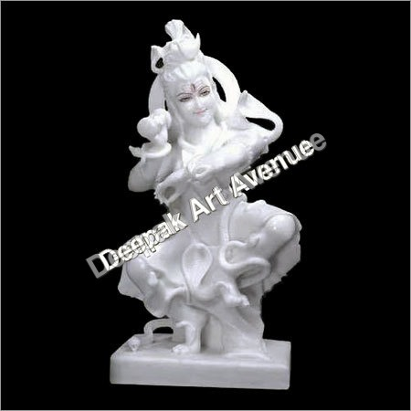 Marble Lord Shiva Statue