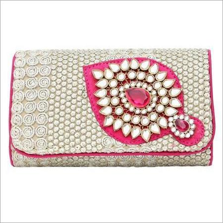 Kundan Clutch Bags