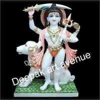 God Marble Statue Bhairav