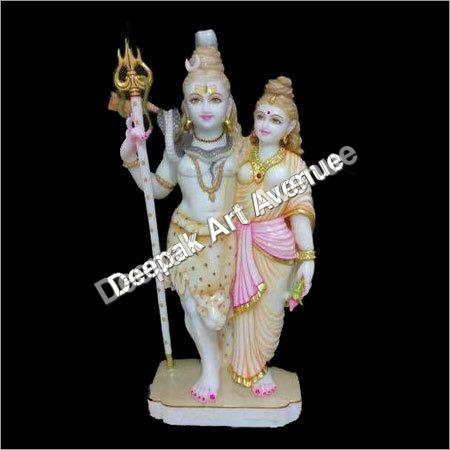 Shiv Parvati Statue
