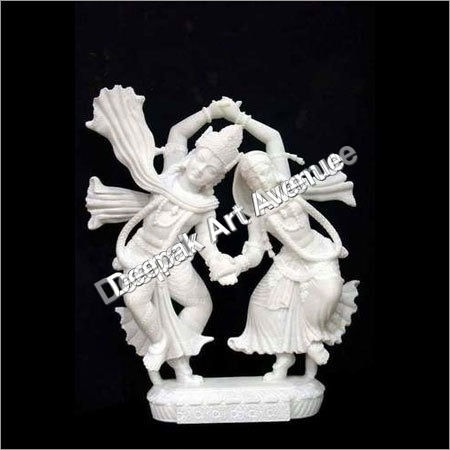 Radha Krishna Dancing Statue