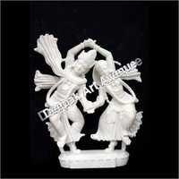 Radha Krishna Dancing Statue