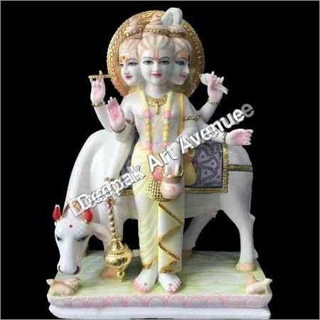 Marble God Moorti Dattatreya