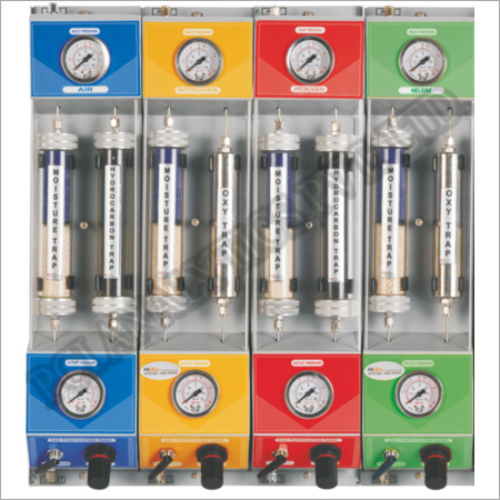 Gas Purification Panel & Installation Diagram for GC