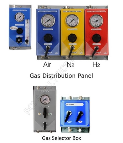 Gas Distribution Panel for GC, AAS & ICP