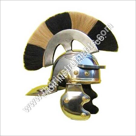 Roman Legionaire Soldier Centurion Steel Helmet