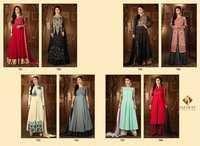 SAJAWAT CREATION (ROLES VOL-5) Anarkali Designer Suits