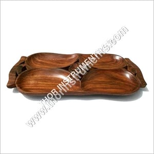 Beautiful Vintage Wooden Serving Tray