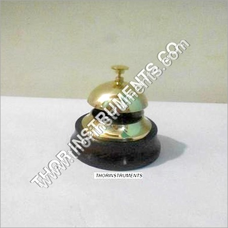 Hotel Front Desk Reception Counter Nautical Bell