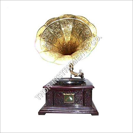 ea45431e6adb Antique Brass Handmade Gramophone Decorative