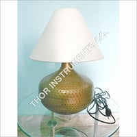 Metal Table Lamp with cotton Shade