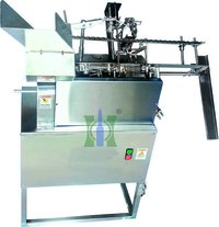 Single Nozzle Ampoule Filling And Sealing Machine