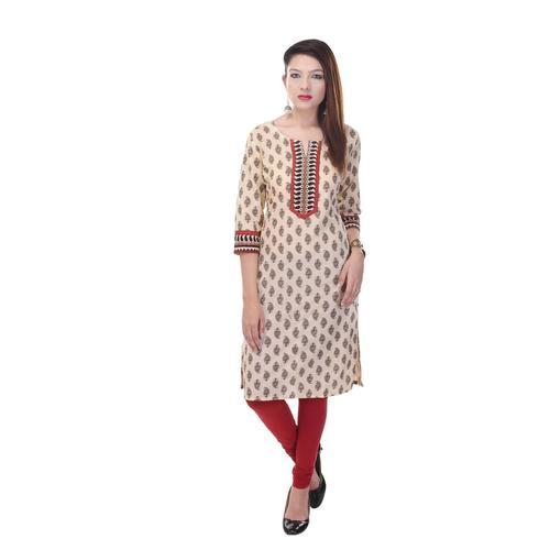 side pocket designer kurti