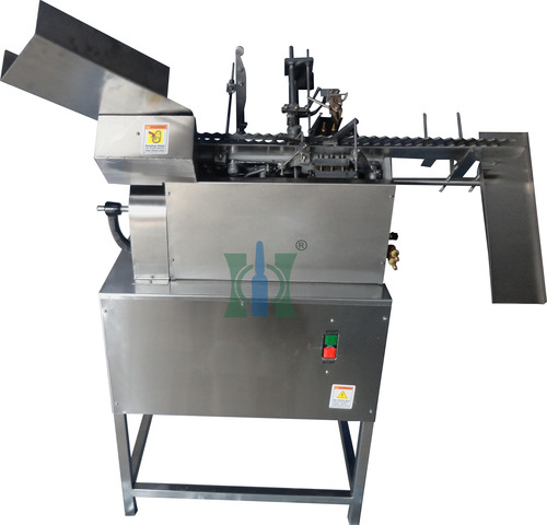 Cosmetic Ampoule Filling And Sealing Machine