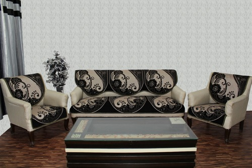 Chenille Sofa Panel Treat