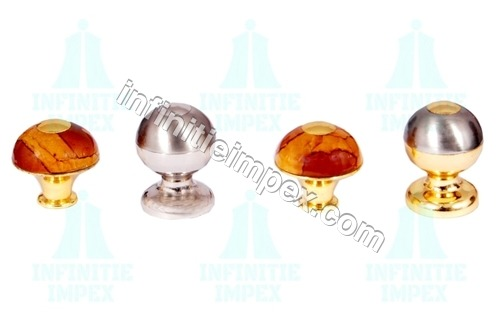 Brass Round Knob