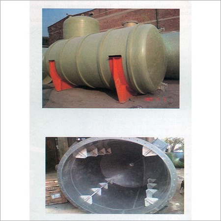 FRP Chemical Lining On Tank & Vessels