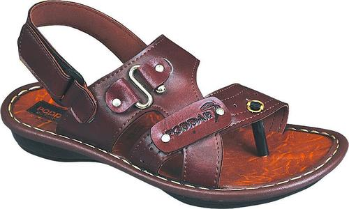 Mens Leather Strap Sandals