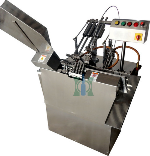Two Head D Type Closed Ampoule Filling Machine