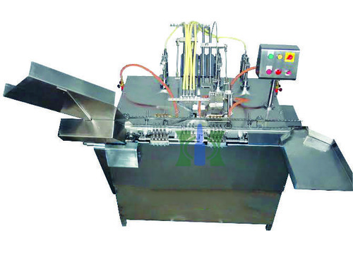 D Type Four Nozzle Closed Ampoule Filling Machine