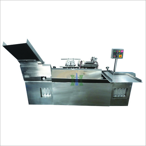 Closed Ampoule Filling And Sealing Machine